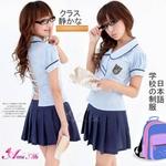 コスプレ 2011新作 背中セクシー女子高生制服コスチューム C306