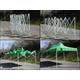 組み立て式タープテント グリーン 【アウトドア】 - 縮小画像2