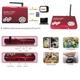 ワイヤレス赤外線LEDカメラセット 音声マイク搭載SDカード録画機能 4チャンネル受信 FS-WRC100 - 縮小画像3