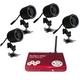 ワイヤレス赤外線LEDカメラセット 音声マイク搭載SDカード録画機能 4チャンネル受信 FS-WRC100 - 縮小画像4