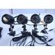 ワイヤレス赤外線LEDカメラセット 音声マイク搭載SDカード録画機能 4チャンネル受信 FS-WRC100 - 縮小画像5