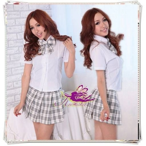 コスプレ 蝶リボンのスクール 学生服 - 拡大画像