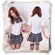 コスプレ 蝶リボンのスクール 学生服(黒) - 縮小画像1