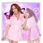 コスプレ ピンクの看護婦のナース *