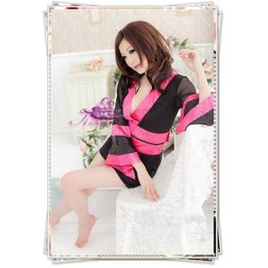 コスプレ 袖シースルー豪華着物 浴衣 和物 - 拡大画像