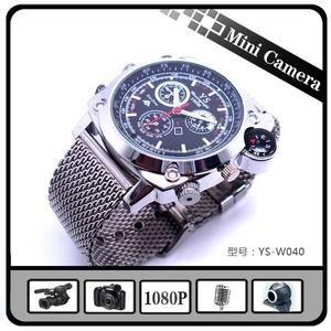 1080Pレンズ防水腕時計カメラ - 拡大画像