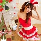 コスプレ 2011年新作 クリスマス☆サンタクロースコスプレセット/コスチューム/s006 - 縮小画像1
