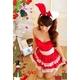 コスプレ 2011年新作 クリスマス☆サンタクロースコスプレセット/コスチューム/s006 - 縮小画像3