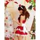 コスプレ 2011年新作 クリスマス☆サンタクロースコスプレセット/コスチューム/s006 - 縮小画像4