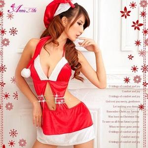 コスプレ 2011年新作 クリスマス☆サンタクロースコスプレセット/コスチューム/ - 拡大画像
