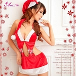 コスプレ 2011年新作 クリスマス☆サンタクロースコスプレセット/コスチューム/s002