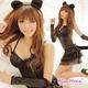 黒猫ちゃんコスチューム豪華5点セット/コスプレ/f116 - 縮小画像1