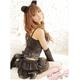 黒猫ちゃんコスチューム豪華5点セット/コスプレ/f116 - 縮小画像5