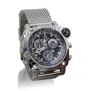 コンパス付き防水腕時計型ビデオカメラ - 拡大画像