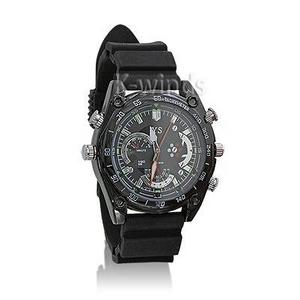 防水腕時計型ビデオカメラ (Bラバー) - 拡大画像