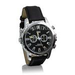 防水腕時計型ビデオカメラ (Cレザー)