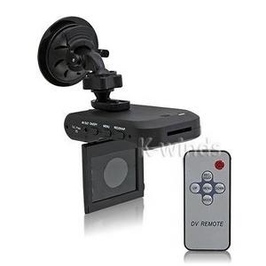 2.5インチモニター&リモコン付き64GB対応暗視車載カメラ - 拡大画像