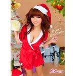 クリスマス☆サンタクロースコスプレセット/コスチューム/s021【3点セット】