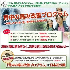 【上田式】背中の痛み改善法〜1日5分から始める、自宅簡単エクササイズ〜[DVD] - 拡大画像