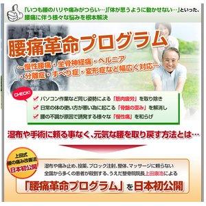 【上田式】腰痛改善法〜1日5分から始める、自宅簡単エクササイズ〜[DVD] - 拡大画像