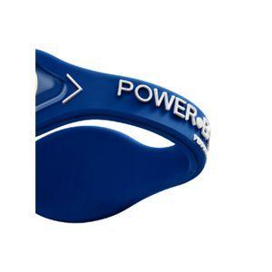 【日本正規品】POWER BALANCE(パワーバランス) シリコン・ブレスレット(ロイヤルブルー/ホワイト Sサイズ)