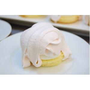 白桃モンブラン 4個入×3パック(計12個入り)  - 拡大画像