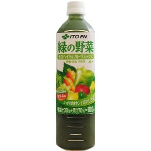 伊藤園 緑の野菜 モロヘイヤ&果実ミックス 930ml×24本セット - 拡大画像