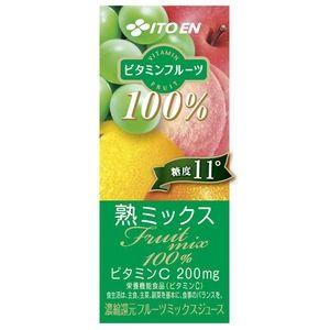 【ケース販売】伊藤園 ビタミンフルーツ 熟ミックス 紙パック 200ml×72本セット まとめ買い