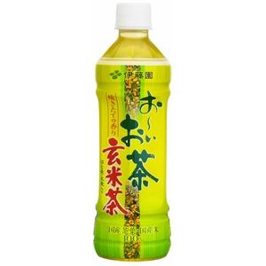 伊藤園 お〜いお茶玄米茶500ml×48本セット - 拡大画像