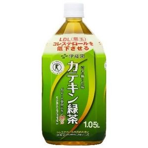 伊藤園 カテキン緑茶1.05L×12本セット 【特定保健用食品(トクホ)】 - 拡大画像