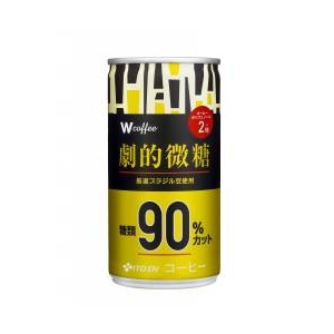 【ケース販売】伊藤園 Wコーヒー 劇的微糖 190g×60本セット まとめ買い