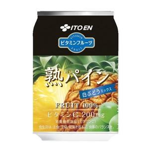 【数量限定】伊藤園 ビタミンフルーツ 熟パイン 280g×72本セット - 拡大画像