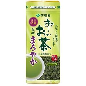 伊藤園 お〜いお茶 旨みまろやか緑茶【100g×10本セット】 - 拡大画像