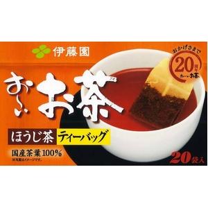 【ケース販売】伊藤園お〜いお茶ほうじ茶ティーバッグ【20袋×20本セット】まとめ買い