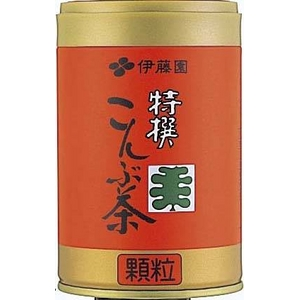【ケース販売】伊藤園特選こんぶ茶【65g×20缶セット】まとめ買い