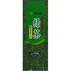 【ケース販売】伊藤園ホームサイズ緑茶【150g×10本セット】まとめ買い