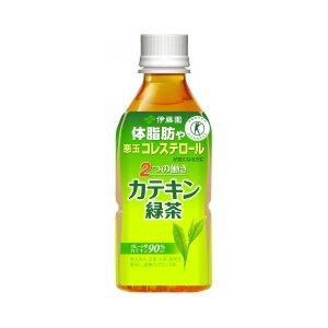 伊藤園【特定保健用食品】2つの働きカテキン緑茶350ml×48本 - 拡大画像