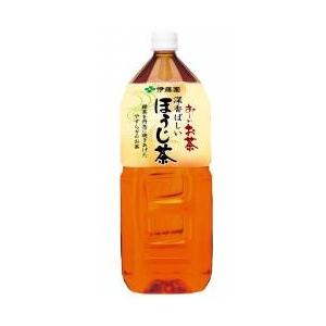 伊藤園 お〜いお茶 深香ばしいほうじ茶 2L×12本セット - 拡大画像