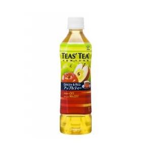 伊藤園 TEAS'TEA Green&Red アップルティー500ml×48本セット - 拡大画像