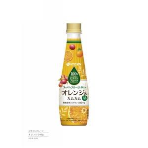 【ケース販売】伊藤園 ビタミンフルーツ オレンジ&カムカム340ml×48本セット まとめ買い