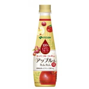 【ケース販売】伊藤園 ビタミンフルーツ アップル&カムカム340ml×48本セット まとめ買い