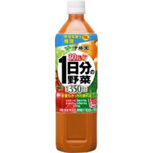 【ケース販売】伊藤園PET栄養パケ1日分の野菜900g×12本セットまとめ買い