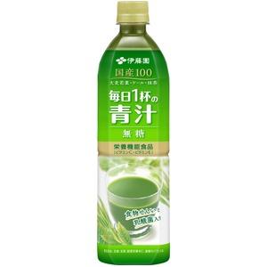 【ケース販売】伊藤園 毎日1杯の青汁 無糖 PET 900g×12本