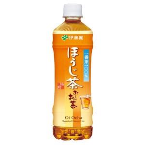 【ケース販売】伊藤園PETお〜いお茶ほうじ茶525ml×48本セット