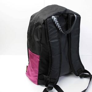 mei(メイ) デイバッグ ブラック/ピンクの写真2