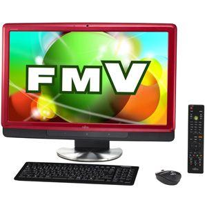 富士通*デスクトップパソコン FMV ESPRIMO FHシリーズ (Office H&B搭載)(ルビーレッド) 【オリジナルモデル】 FMV ESPRIMO FH700/5AT[ FMV-F705ARZ ]