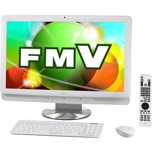 富士通*デスクトップパソコン FMV ESPRIMO FHシリーズ (Office H&B搭載)(スノーホワイト) 【オリジナルモデル】 FMV ESPRIMO FH700/5AT[ FMV-F705AWZ ]