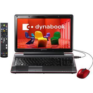 東芝 ノートパソコン Qosmio V65 (Office H&B搭載)(シャイニーレッド) 【TVモデル】 [ PQV6587MRF ]