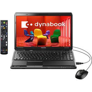 東芝 ノートパソコン dynabook TV (Office搭載)(ベルベッティブラック) 【TVモデル】 [ PATV74MLTBL ]