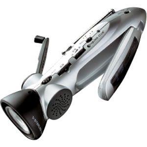 スタ-リング 手回し&ソーラー充電ラジオ スターリングターボ[ 6000(スタ-リング) ] - 拡大画像